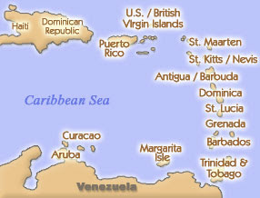 DevonAfrica My Upcoming Cruise To Caribbean Slave Ports - Southern caribbean islands