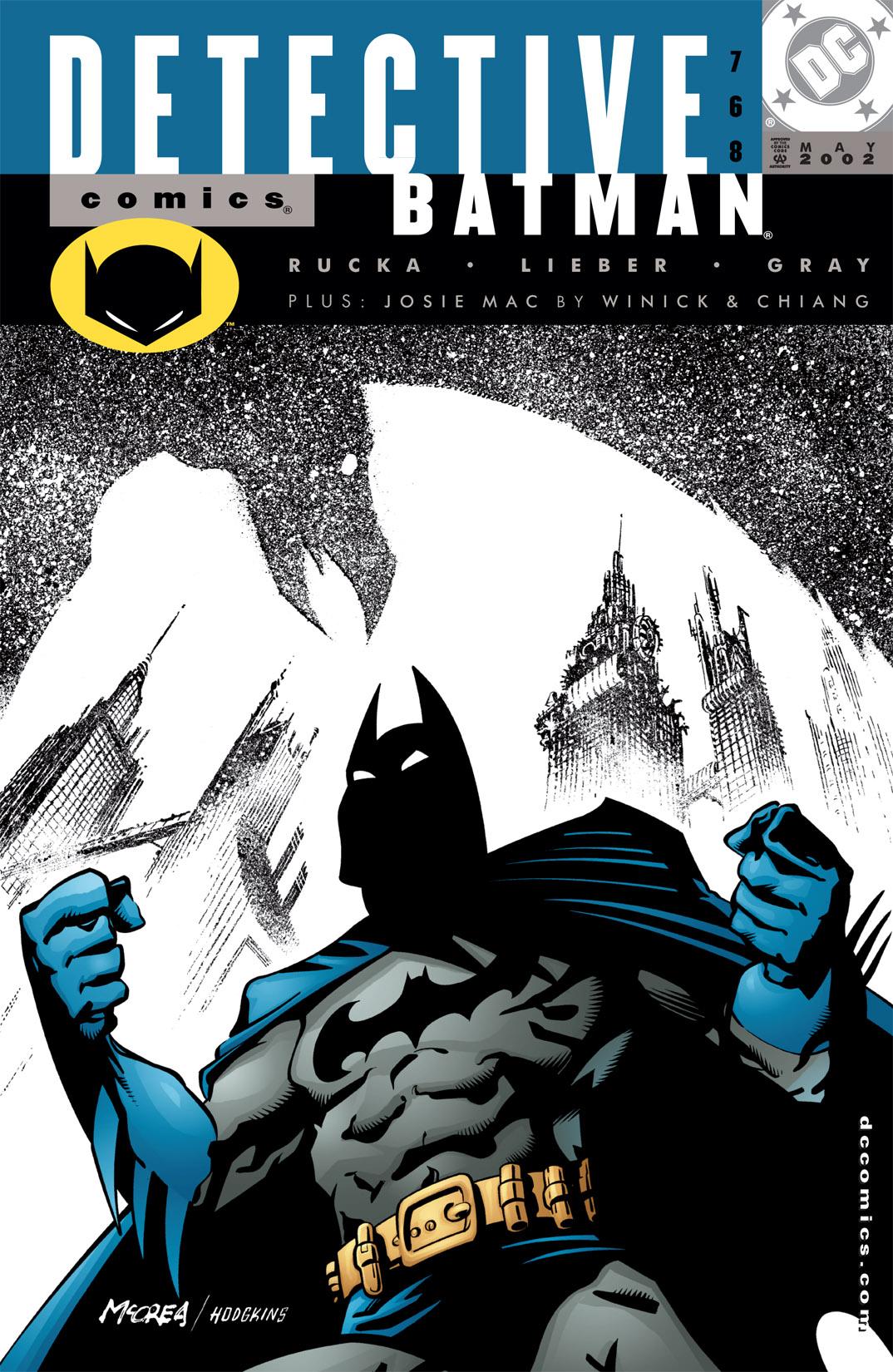 Detective Comics (1937) 768 Page 1