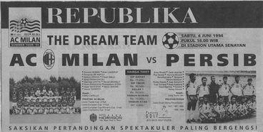 PERSIB vs AC Milan