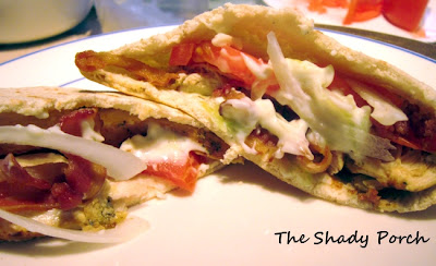 Chicken Gyros...a flavorful sandwich!