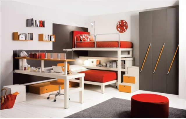 Modern Bunk Rooms for Teenage Boys | Home Design