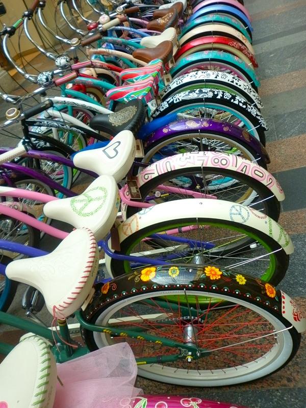 розовые велосипеды для женщин