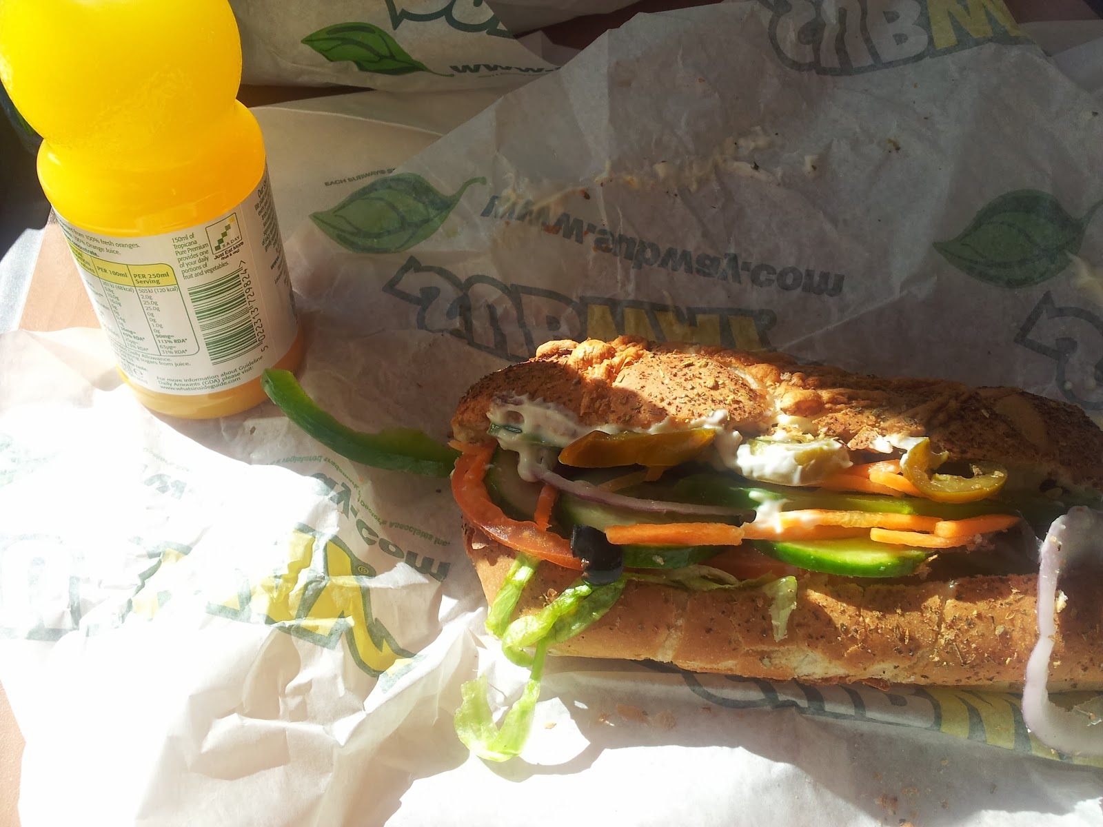 Subway Haverfordwest Food
