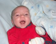GREAT-NEPHEW, LITTLE PLUM. BORN 29/12/2010.