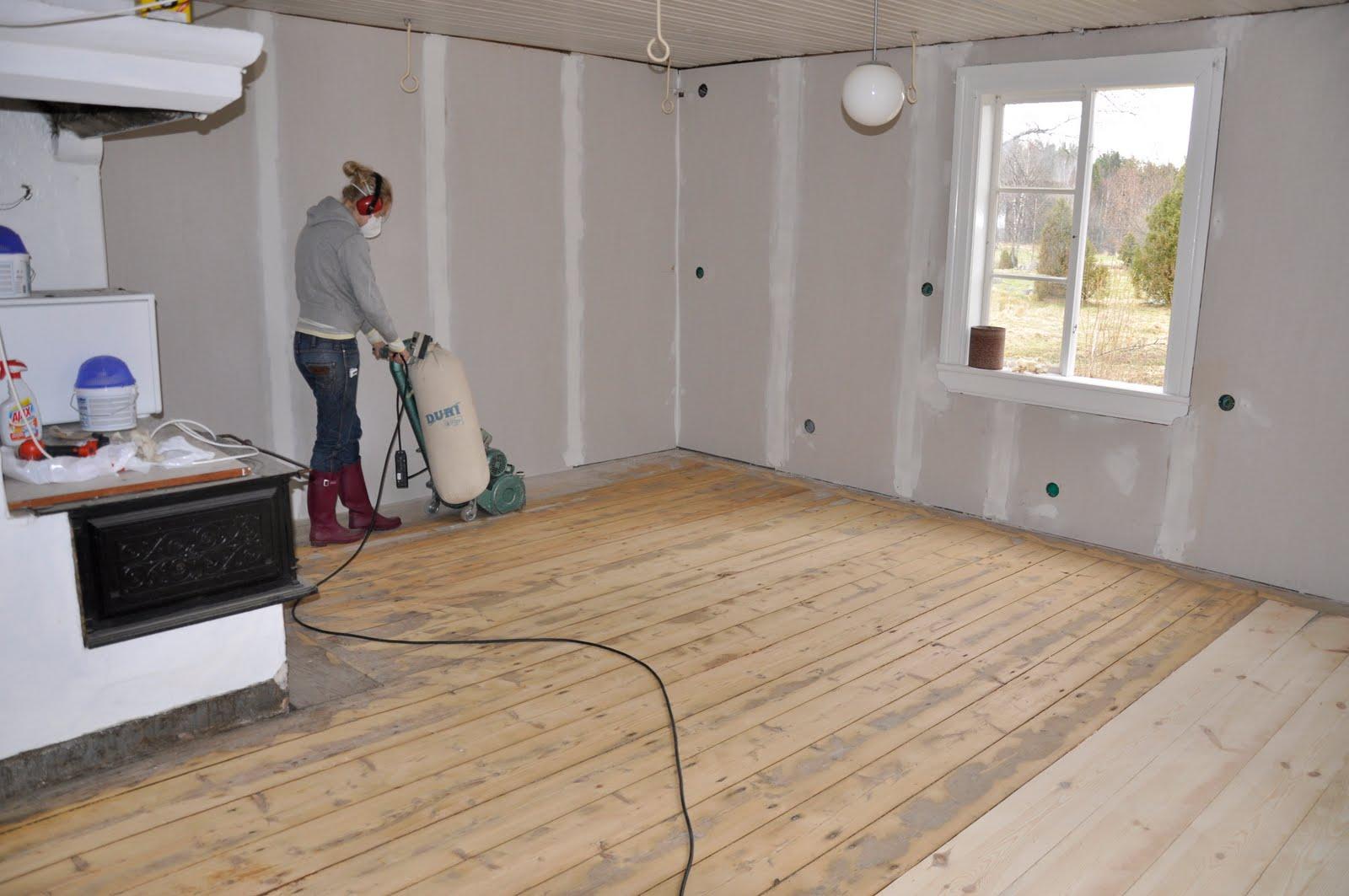 malin charlottas slipa och luta gammalt tr golv. Black Bedroom Furniture Sets. Home Design Ideas
