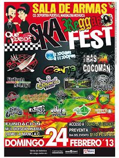 Ska Reggae Fest en la Sala de Armas