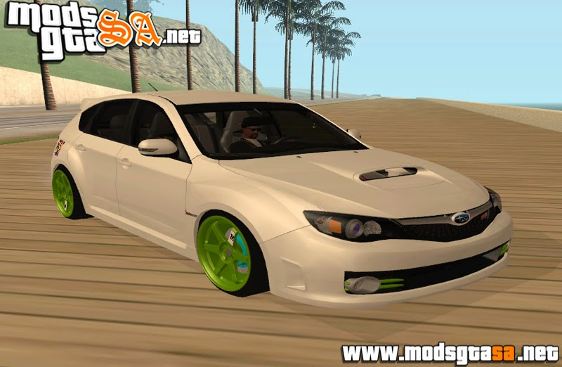 SA - Subaru Impreza WRX STI JDM