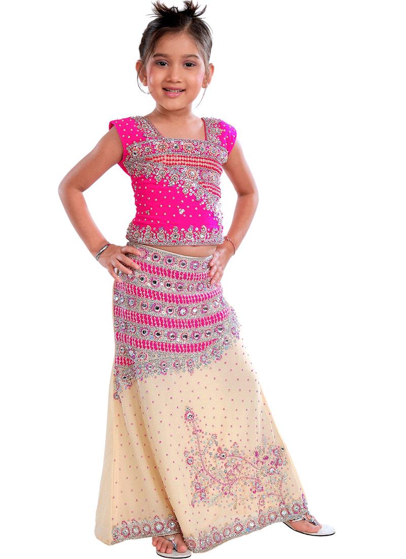 Детские индийские платья