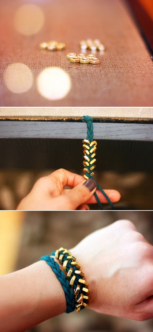 How To Make a Chevron Bracelet