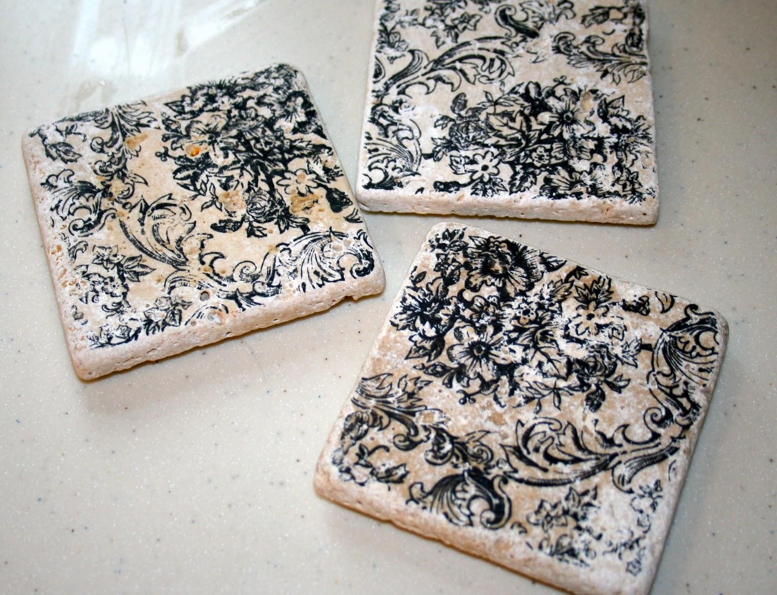 Diy Ceramic Tile Coasters The Happier Homemaker