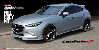 Mazda 3 BM 2017 Body Kit / Hatchback & Sedan