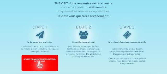 The Visit - Une rencontre extraterrestre - Organisez une projection du film près de chez vous !
