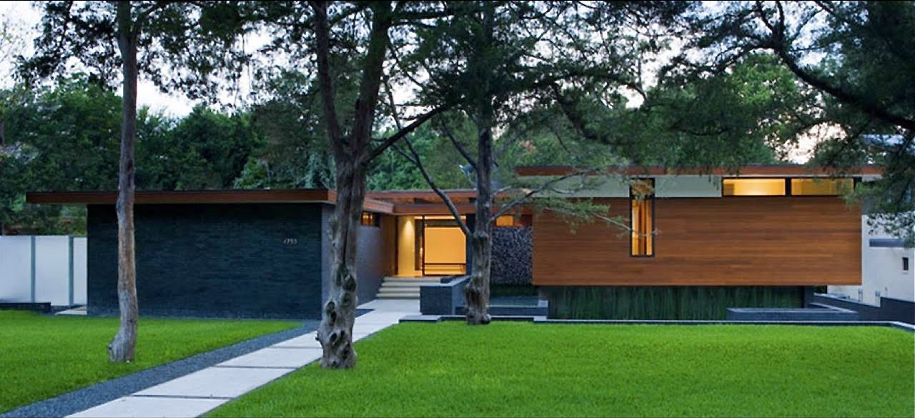 Houses Gardens People Dallas Architect Cliff Welchs Modern