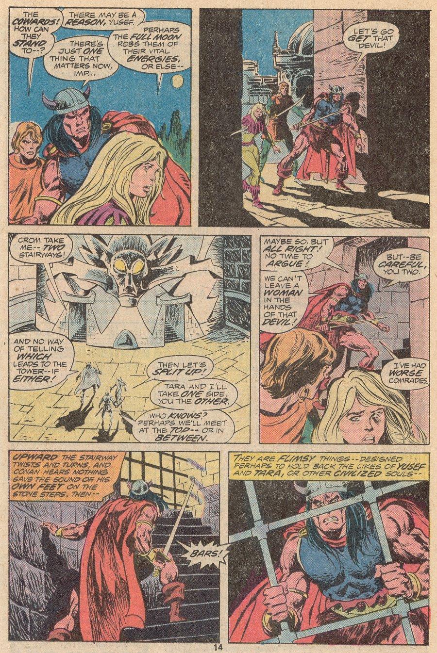 Conan the Barbarian (1970) Issue #56 #68 - English 9