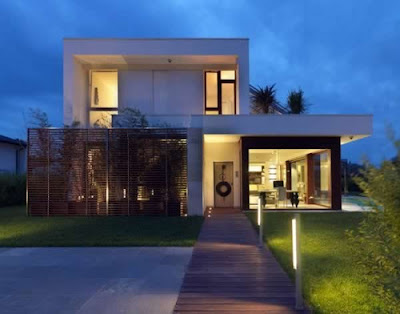 The simple modern home designs have already professionally designed by