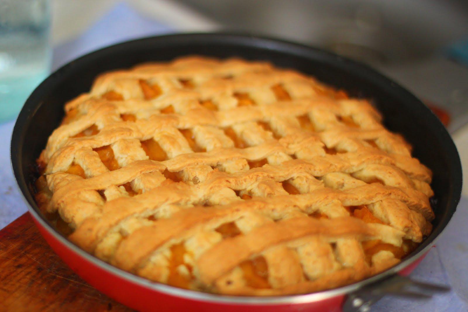 Пирог из песочного теста с абрикосом рецепт с