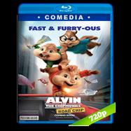 Alvin y las ardillas: Aventura sobre ruedas (2015) BRRip 720p Audio Dual Latino-Ingles