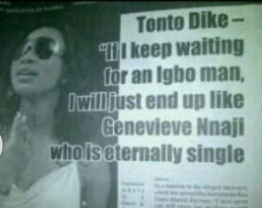 00 Tonto Denies Reports She Dissed Genevieve Nnaji In Recent Interview