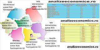 Veniturile totale ale persoanelor pe regiuni 2014