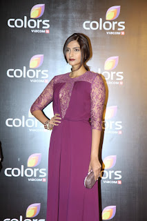 Ayushmann and Sonam Kapoor at Colors