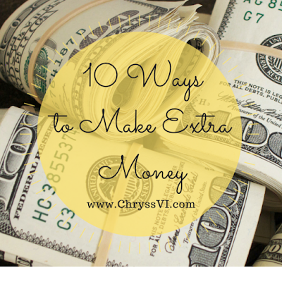 10 Ways To Make Extra Money