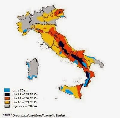 misure pene italia