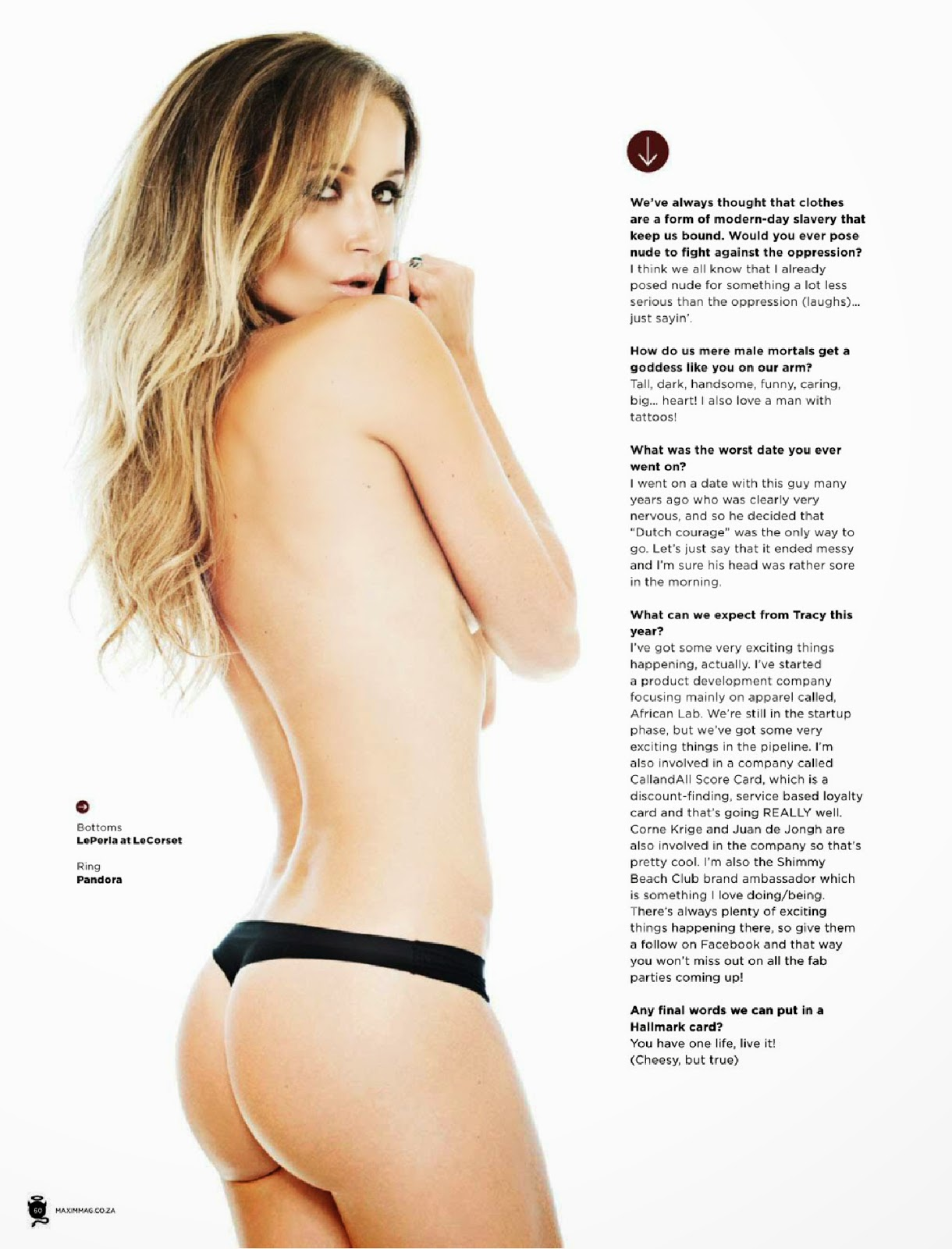 Tracy McGregor For Maxim Magazine,South Africa, June 2014