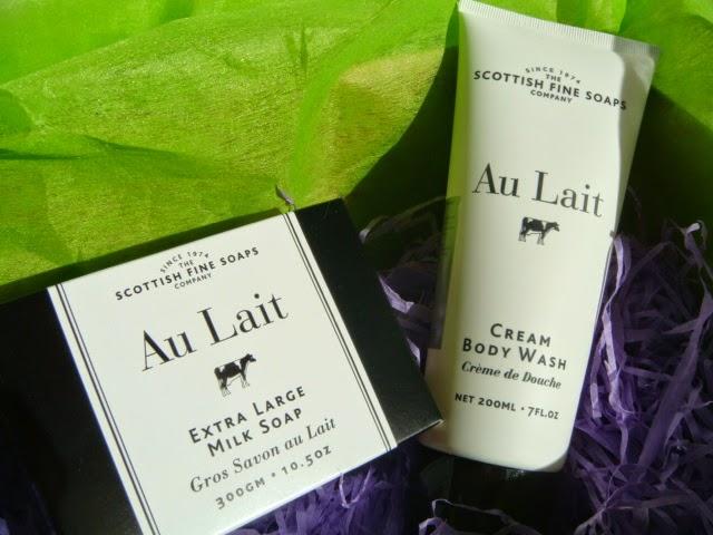 Jabón Artesanal y Crema de Ducha Au Lait Scottish Fine Soaps