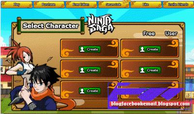 permainan online terbaik Ninja saga