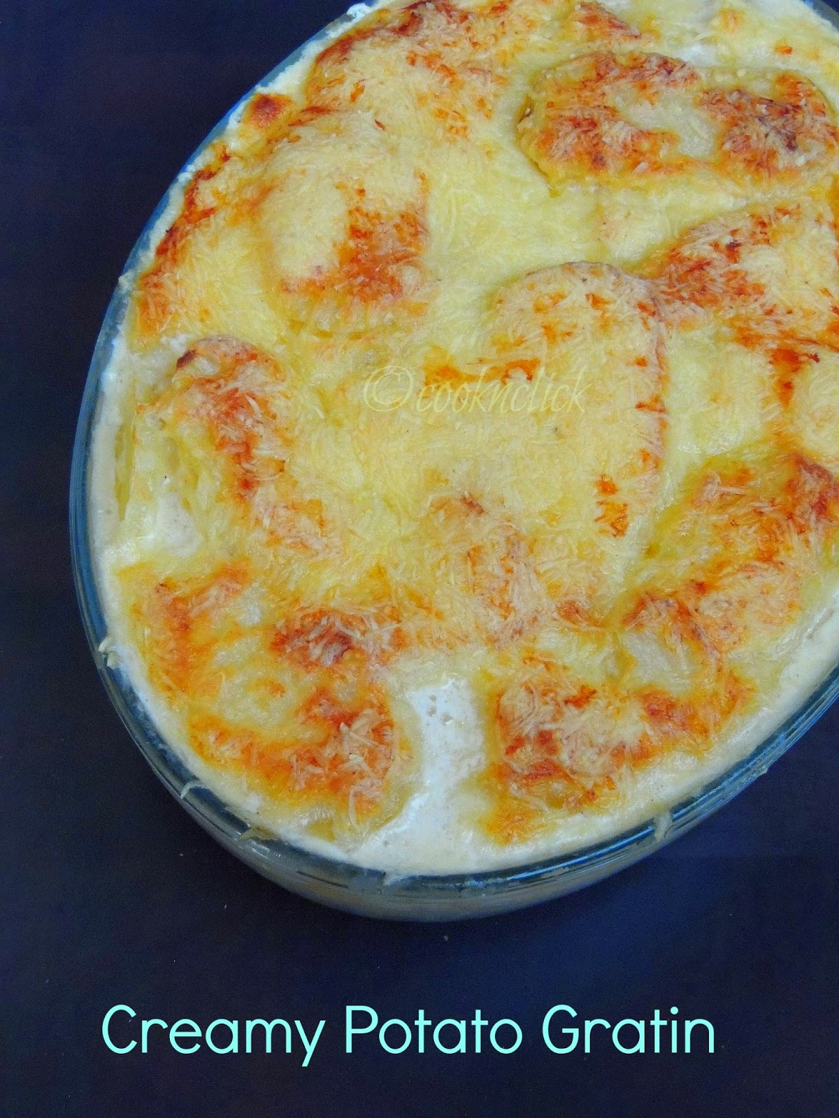 Creamy Au Gratin Potatoes Recipe — Dishmaps