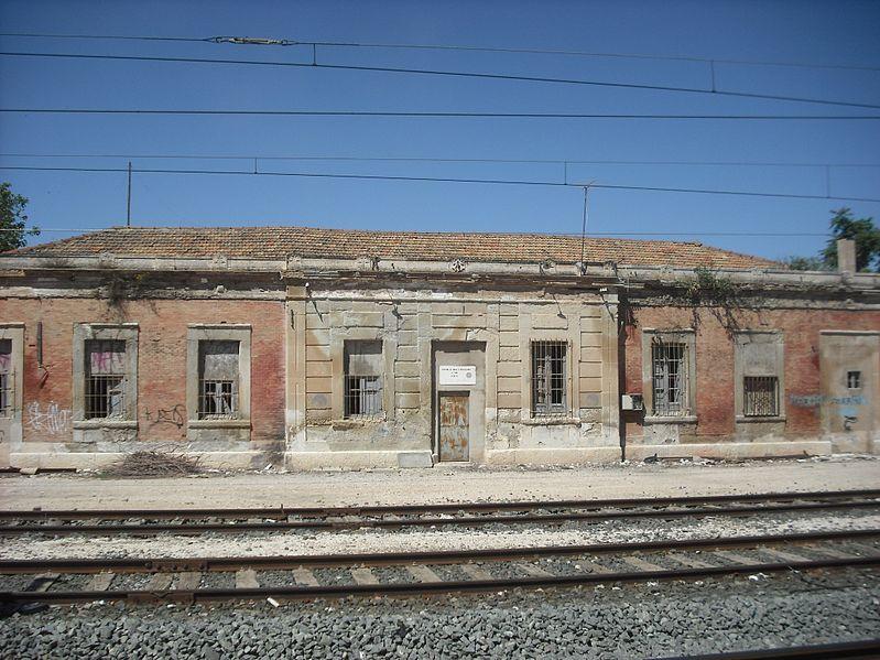Estació de la VAY a Villena