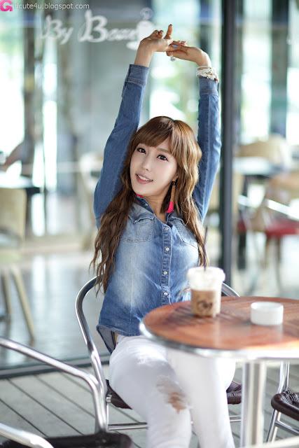 7 Im Min Young - Casual Outdoor-very cute asian girl-girlcute4u.blogspot.com