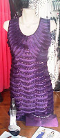 Purple dress @ Individual Chic