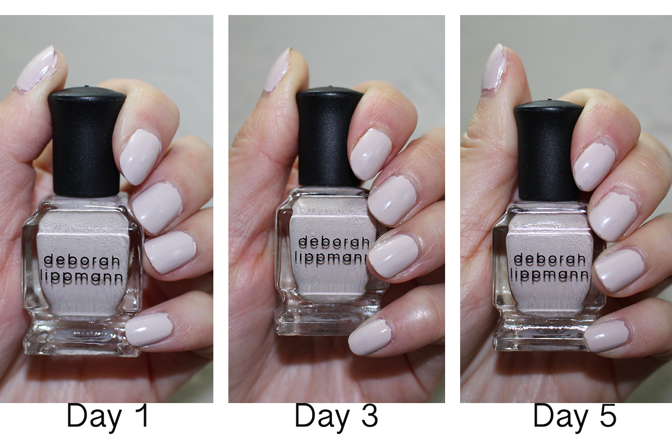 Nails: Deborah Lippmann \