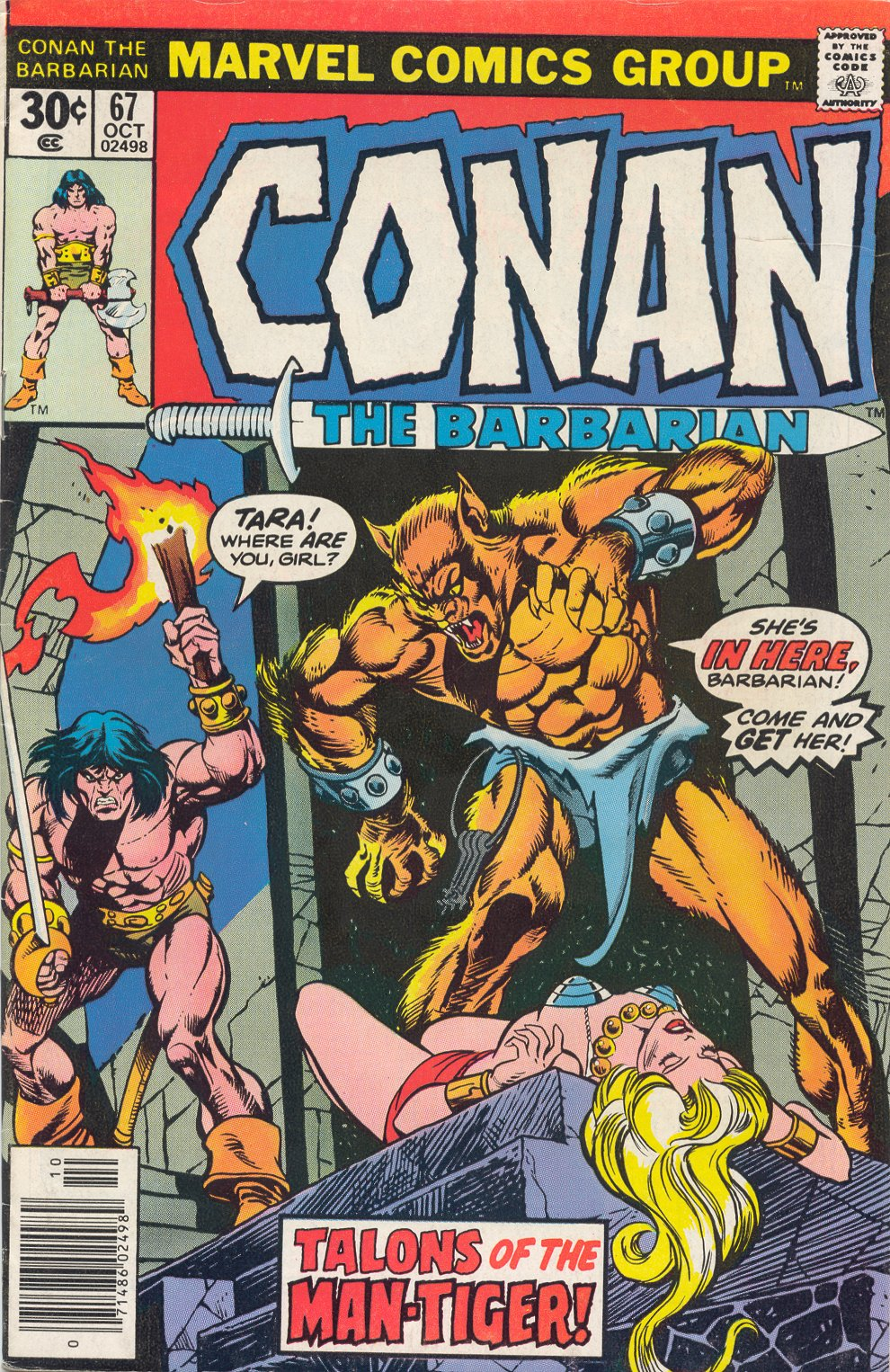 Conan the Barbarian (1970) Issue #67 #79 - English 1