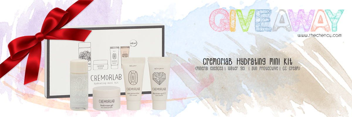 [GIVEAWAY] Cremorlab Hydrating Mini Kit