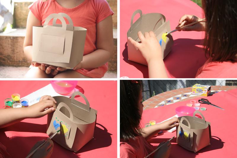 Decorar en familia_Taller de Creactividad: Diy cesta de picnic de cartón6