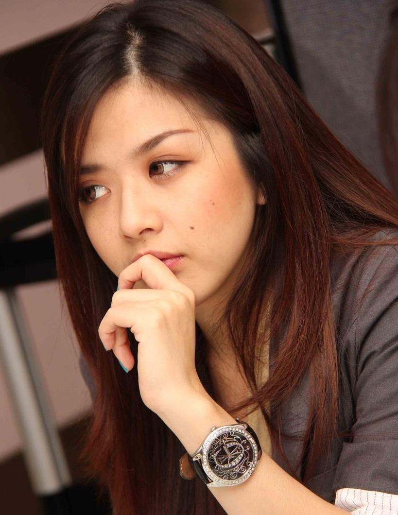franda   vj franda   artis hot toket artis indonesia