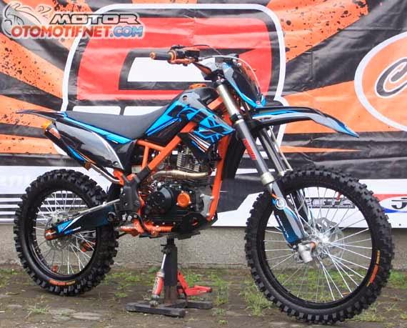 Kawasaki KLX 150 Modifikasi