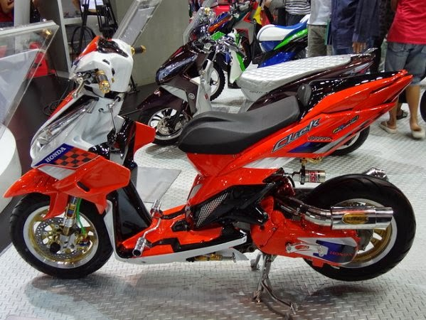 Modifikasi Honda Vario Techno