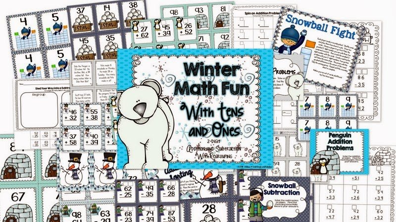 http://www.teacherspayteachers.com/Product/Winter-Math-Fun-2-digit-regrouping-1083454