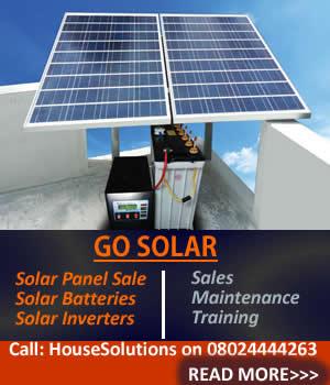 cost of solar energy in nigeria