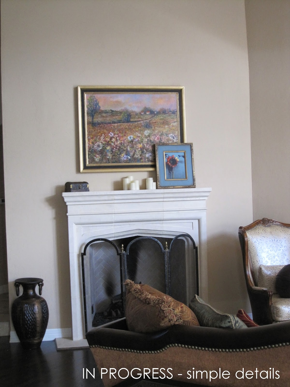 simple details new client fireplace update suggestions