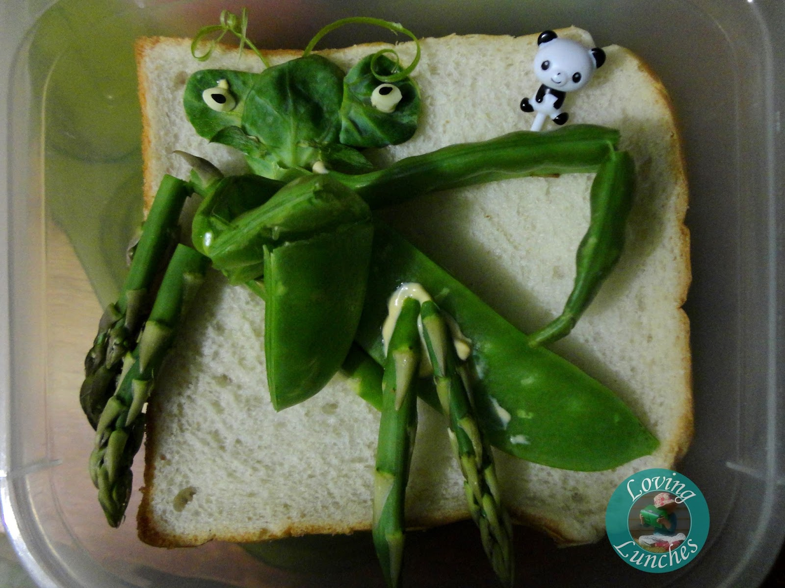 Loving Lunches: Kung Fu Panda Lunches of Awesomeness Mantis