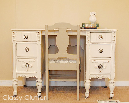 For more dresser makeovers, check out: - Chalk Paint Recipe And Chalk Paint Dresser Makeover