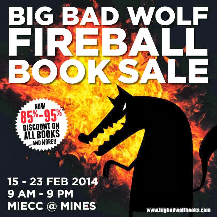 Pesta Buku Lelong Big Bad Wolf 2014 Mines Seri kembangan