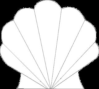 Fabulous image inside seashell template printable