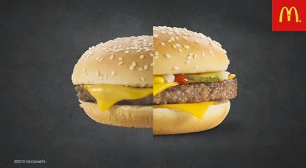 ¿Por qué los alimentos se ven diferentes en la publicidad?