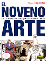 El noveno arte: De la mesa de trabajo a la estantería,Alan McKenzie,Norma Editorial  tienda de comics en México distrito federal, venta de comics en México df
