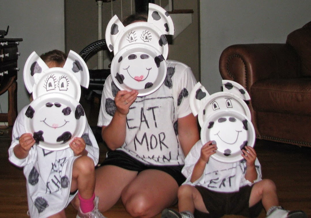 Geeky image with chick fil a cow costume printable
